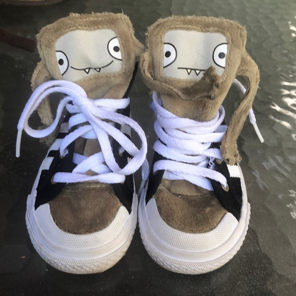 Adidas kids monster shoes